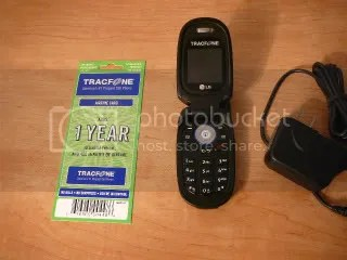 Tracfone LG 225 Camera Phone with One Year 800 minute Card