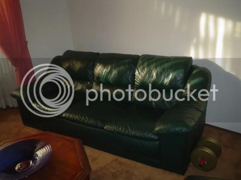 dark green leather sofa small reclining corner sofas fs natuzzi all couch beyond ca car forums thread