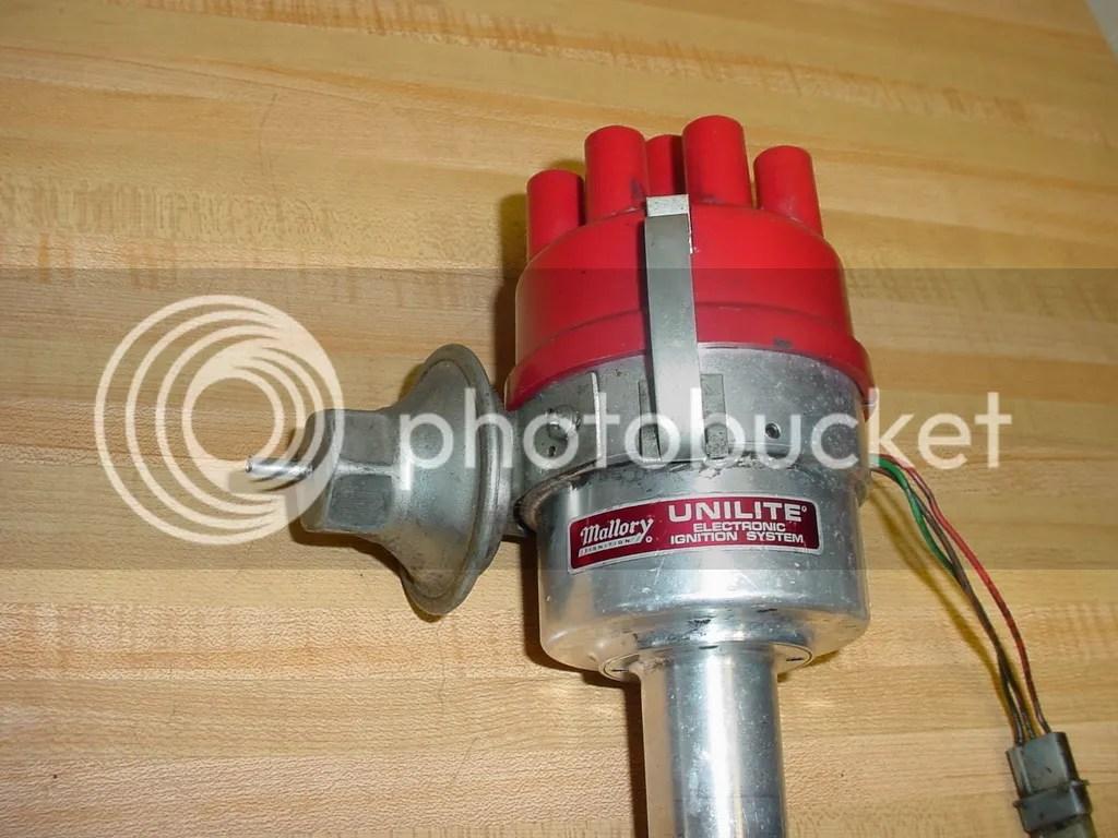 Mallory Unilite Distributor Parts