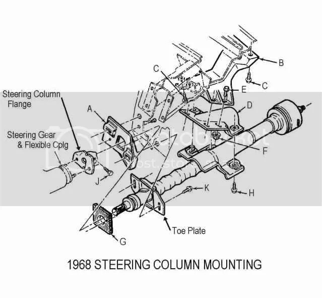 New 67-68 Steering Column Disassembly & Repair Papers