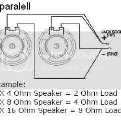 Speaker Wiring Diagram Ohms Chamberlain Garage Door Sensor 8ohm 2x12 = 2 16 Ohm Speakers?