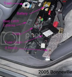 2005 bonneville fuse box data schematic diagram 2004 pontiac bonneville fuse box location [ 1024 x 795 Pixel ]