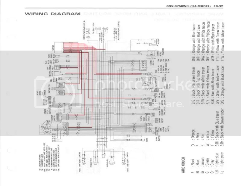 94 Gsxr 750 Wiring Diagram Wiring Diagram Photos For Help