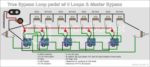 Reload this Page DIY Triple True Bypass Loop  Guitar Forums