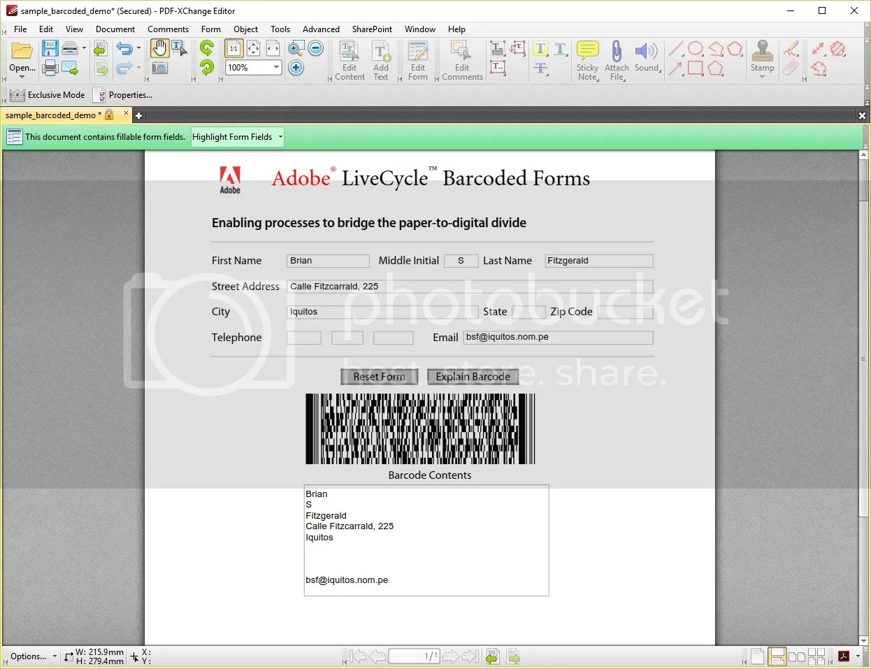 PDF-XChange Editor - sample_barcoded_demo.pdf