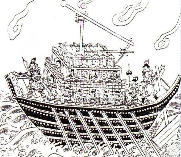 中國古代戰船有多大?作戰力強,編制超航母,有的派女性上船服務 - 壹讀