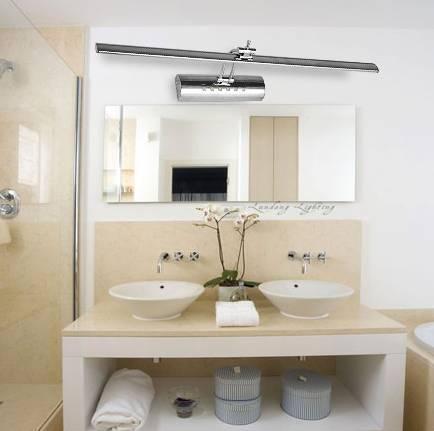 浴室鏡前燈如何設計高度以及搭配? - 壹讀