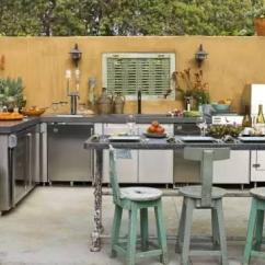 Outdoor Kitchens Ideas Kitchen Step Stool Chair 17个国外的户外厨房案例 你有过这种想法么 壹读
