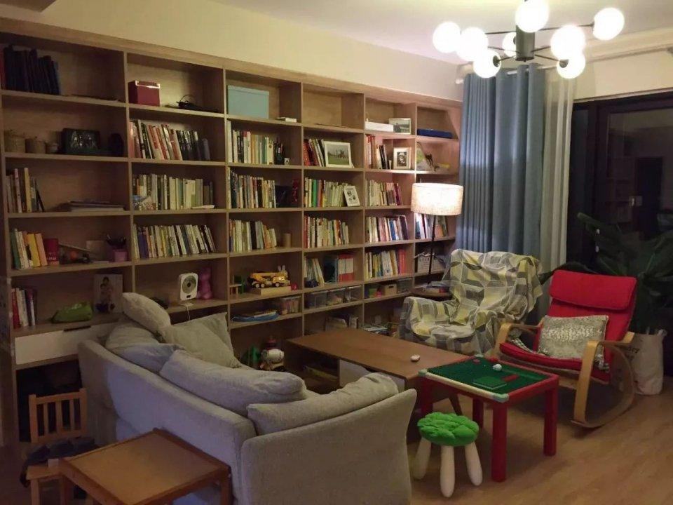把客廳改造成書房。最後都整成了什麼樣子?【圖文】 - 壹讀