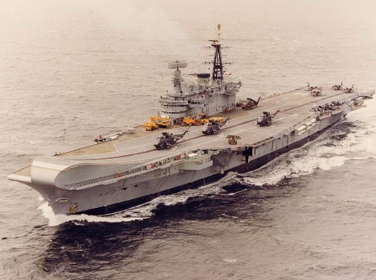 福克蘭群島戰爭(三):福島周邊海域的海空作戰 - 壹讀