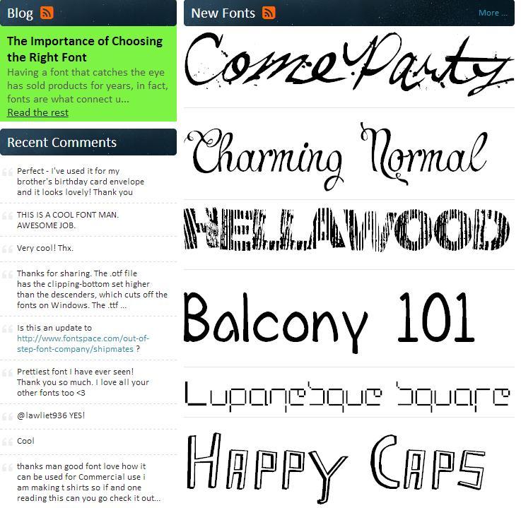 8個英文字體下載網站。不僅種類多還很有逼格!【設計師資源26】 - 壹讀