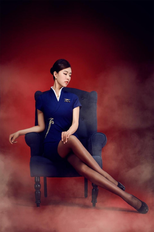 深圳航空旗袍黑絲空姐, 高貴優雅性感神秘 - 壹讀