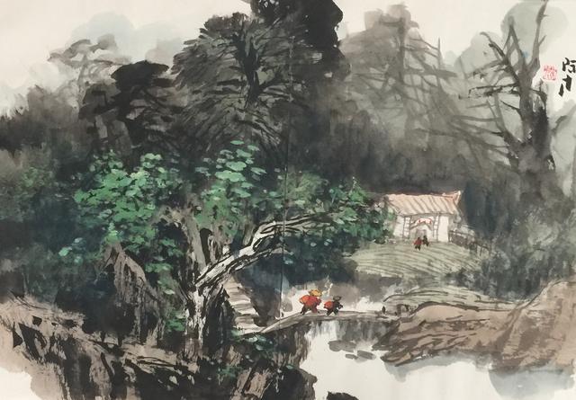 鄉情鄉音鄉愁:張際才鄉村寫生作品選 - 壹讀