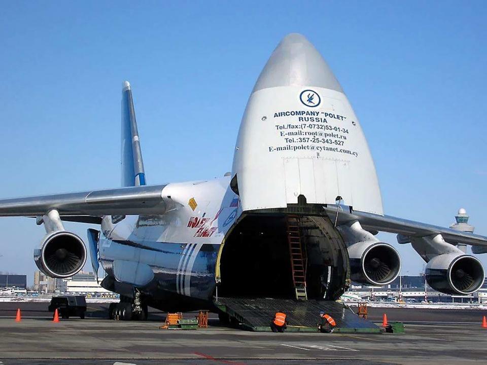 俄羅斯用現役軍機賺錢,幫美軍運送物資賺取大量外快 - 壹讀