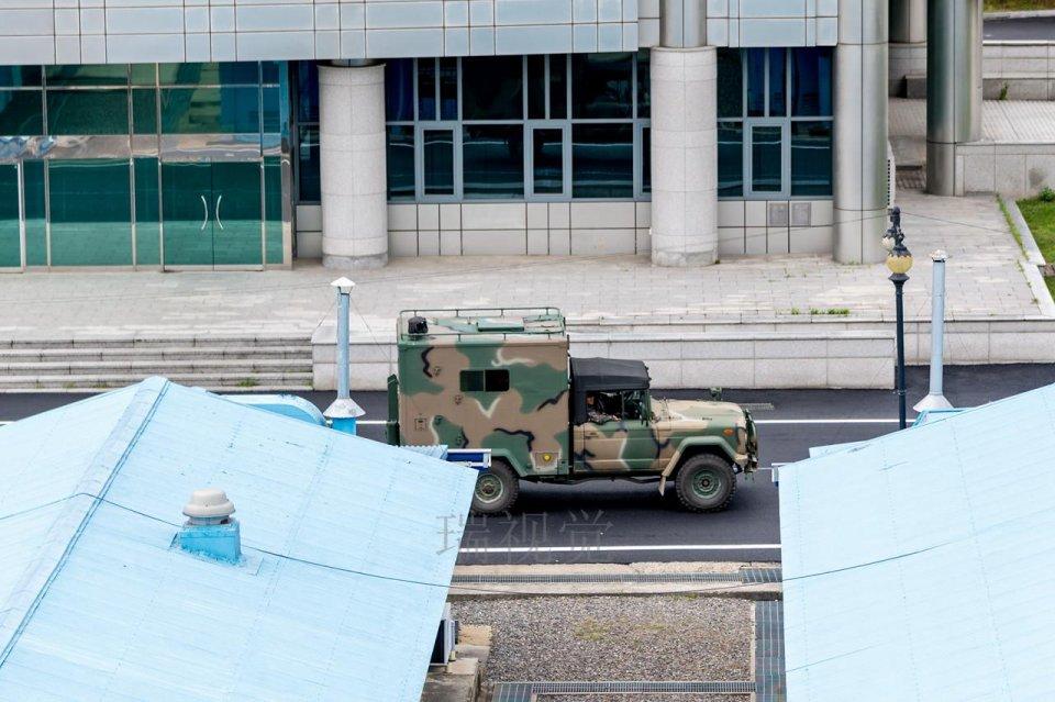 板門店朝鮮方:長焦鏡頭拍攝的朝韓士兵 - 壹讀