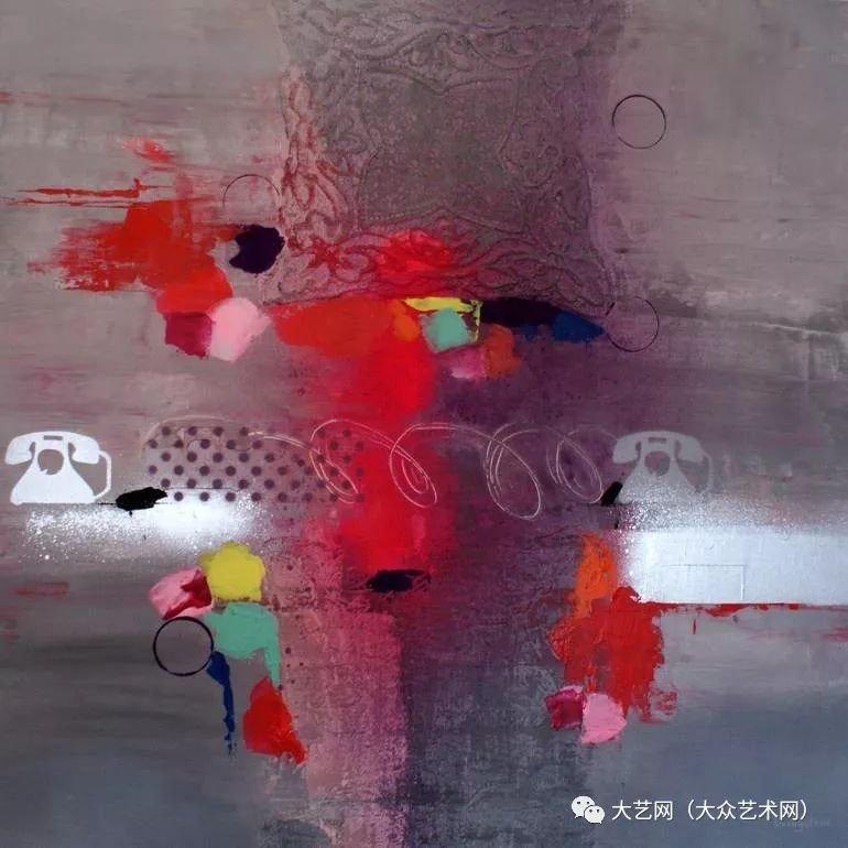 大眾藝術網:稚趣的抽象表現主義者 —— 法國畫家利文斯通·阿諾德(Livingstone Arnold)繪畫作品 - 壹讀