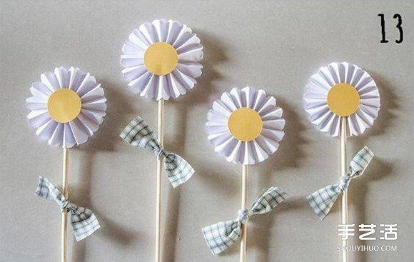 立體小花製作方法 簡單手工立體紙花的做法 - 壹讀