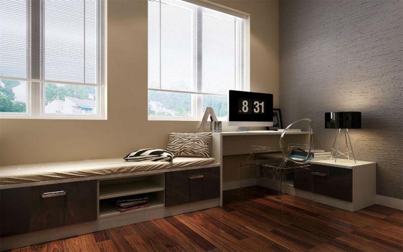 臥室飄窗書桌設計經典案例 讓你的窗臺縈繞著一縷書香 - 壹讀