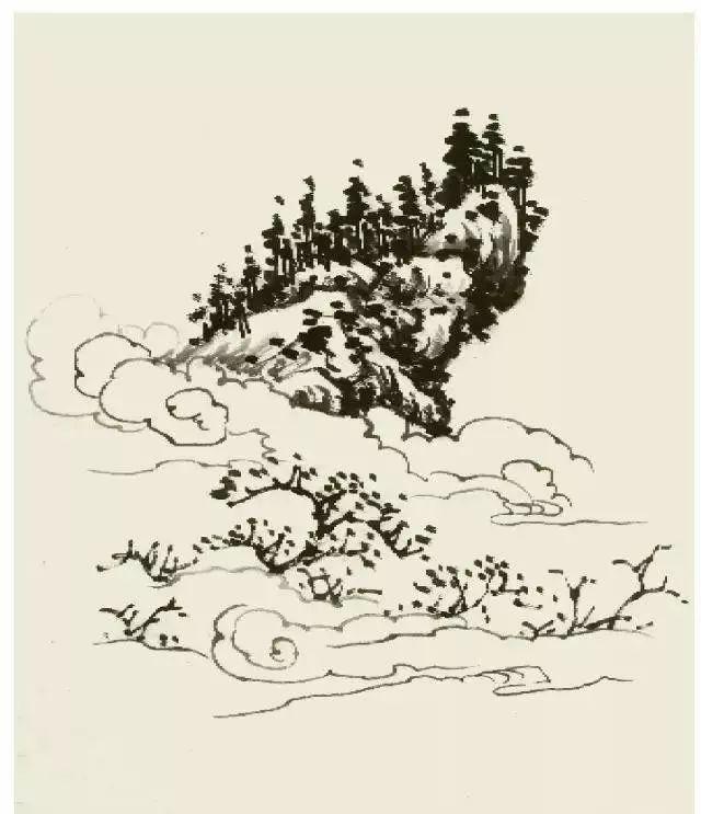 國畫山水——雲的勾染畫法! - 壹讀