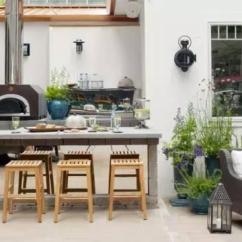 Outdoor Kitchens Ideas Costco Kitchen Faucets 17个国外的户外厨房案例 你有过这种想法么 壹读