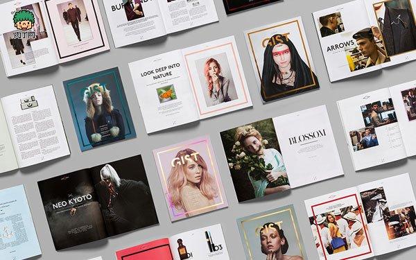雜誌內頁排版設計圖片 GIST時尚雜誌封面與排版設計欣賞 - 壹讀