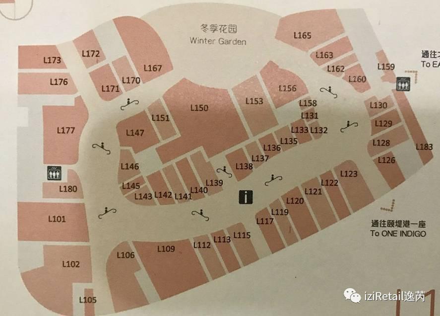 從50張商場平面圖,看購物中心動線規劃 iziRetail逸芮 - 壹讀