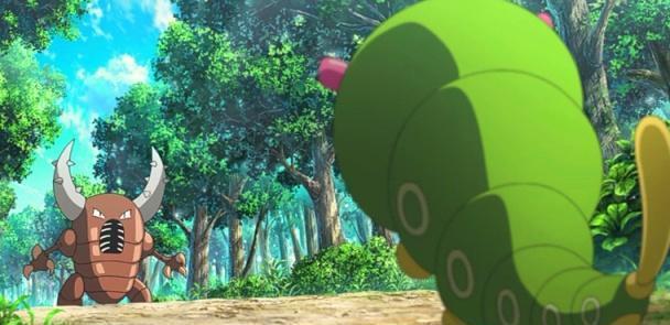 口袋妖怪:綠毛蟲VS獨角蟲。獨角蟲更勝一籌! - 壹讀