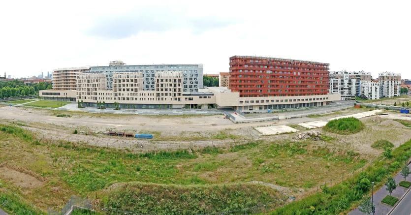 Il cantiere nel 2015 (Fotogramma)