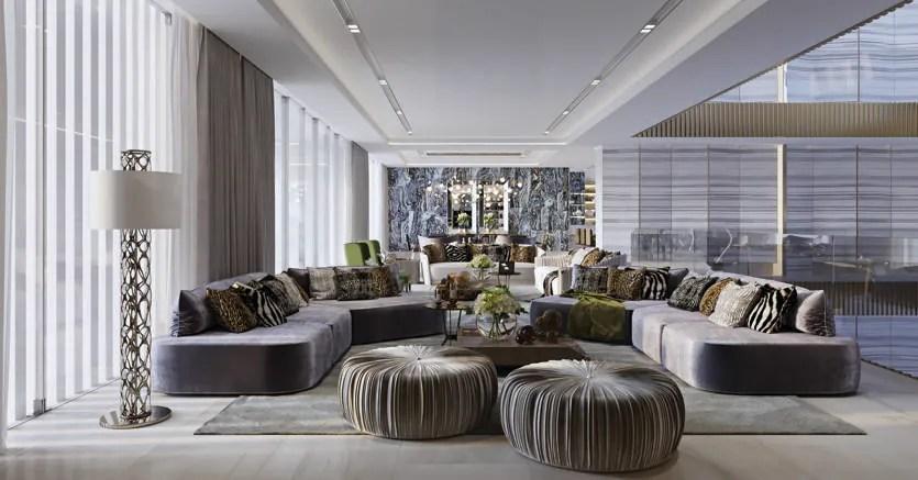 Roberto Cavalli Home progetta gli interni di 160 ville di