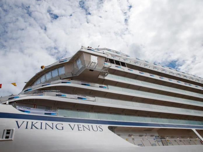 Fincantieri: here is Viking Venus, the seventh cruise ship built by the group for the Finnish owner