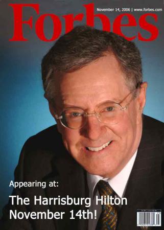 美国《福布斯》杂志董事长兼CEO史蒂夫·福布斯(Steve Forbes)