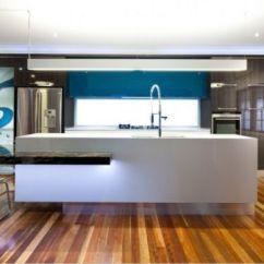 Ikea Kitchen Remodel Make A Island 高端厨房的蓝色梦幻体验_尚品频道_新浪网