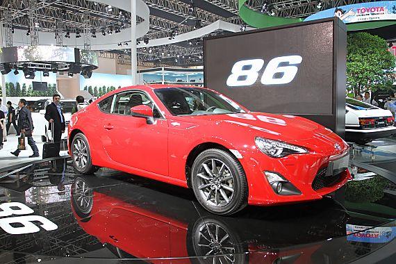 豐田86跑車上市 售價26.9-27.9萬元_汽車頻道_新浪網-北美