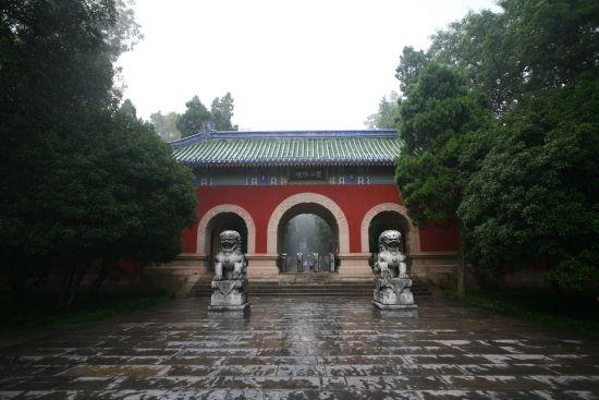 南京中山陵園風景區——靈谷景區(組圖)_新浪旅游_新浪網