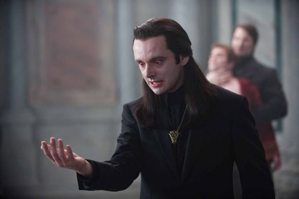 Michael Sheen as Aro in Twilight (2011)