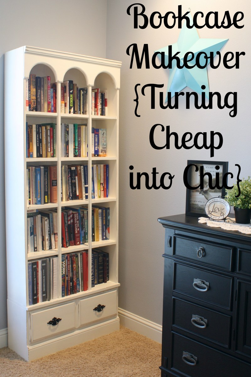 Bookcase Makeover Turning Cheap Chic