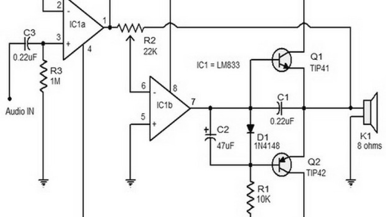 small resolution of tip41 tip42 amplifier diagram
