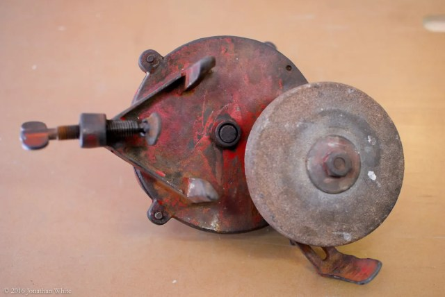 Antique Grinding Wheel Value