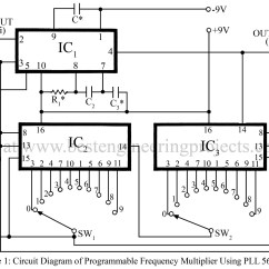 Decade Counter Circuit Diagram Using 7490 Iveco Daily 2008 Wiring Frequency Multiplier Best Engineering Projects