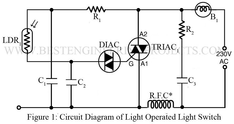 ldr light circuit