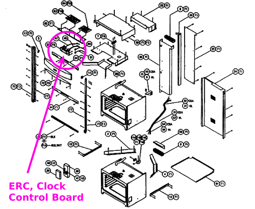 small resolution of dacor cooktop parts diagrams