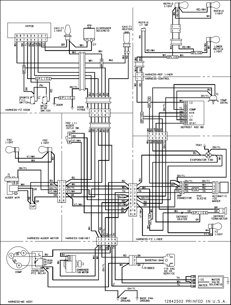 medium resolution of kitchenaid wiring schematic