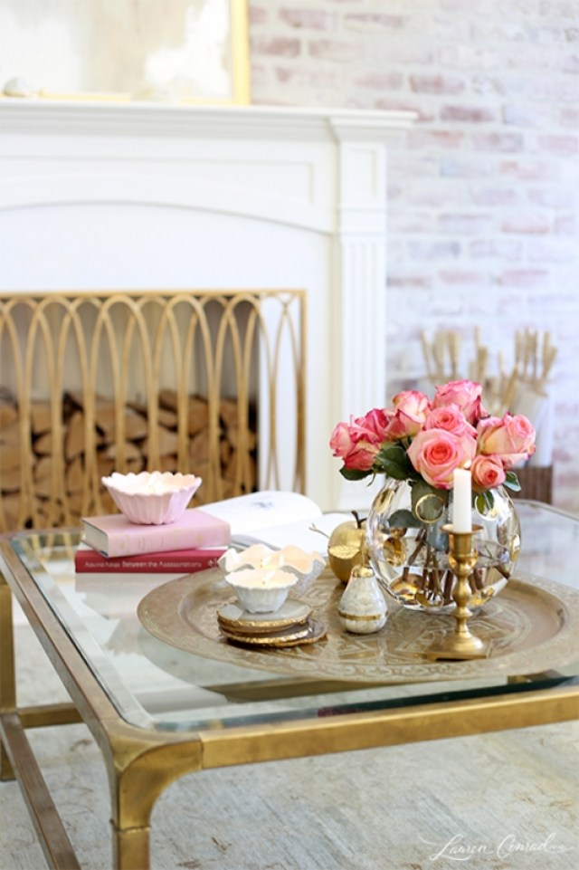 Spring Decorating with Moroccan Trays  Casa Watkins Living