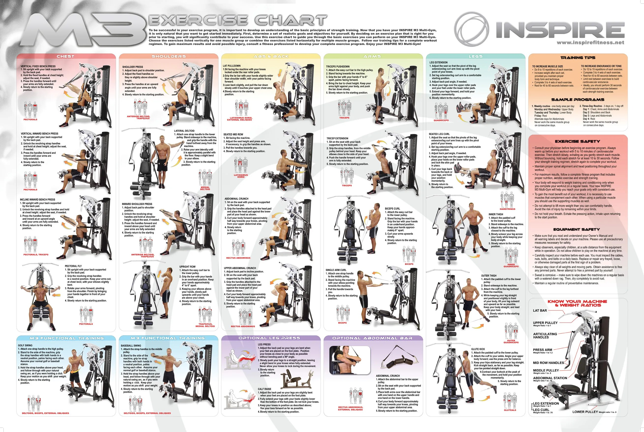 Home gym workout manual yourviewsite co weider pro chart also best exercise image collection rh ceadphantomfo