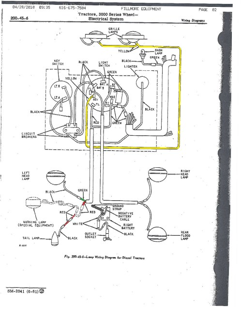 small resolution of john deere 3010 wiring diagram wiring diagram database john deere 3010 light wiring diagram jd 3010 wiring diagram