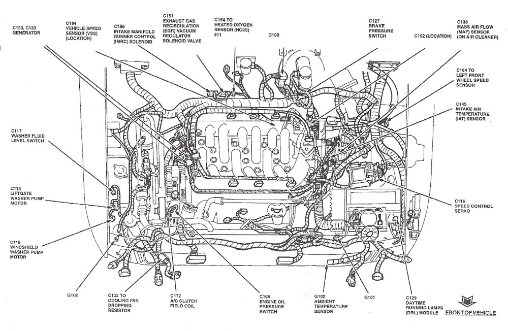 medium resolution of ford 2 0 zetec wiring diagram