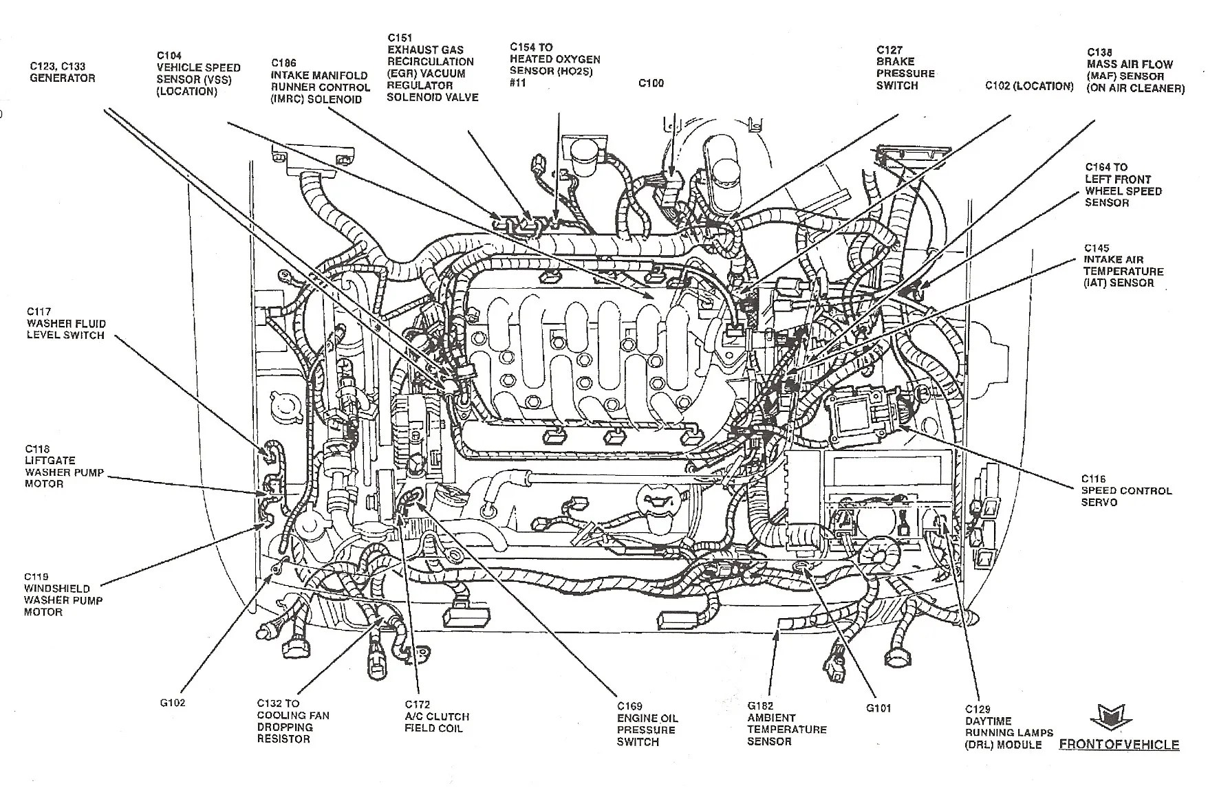 hight resolution of ford 2 0 zetec wiring diagram