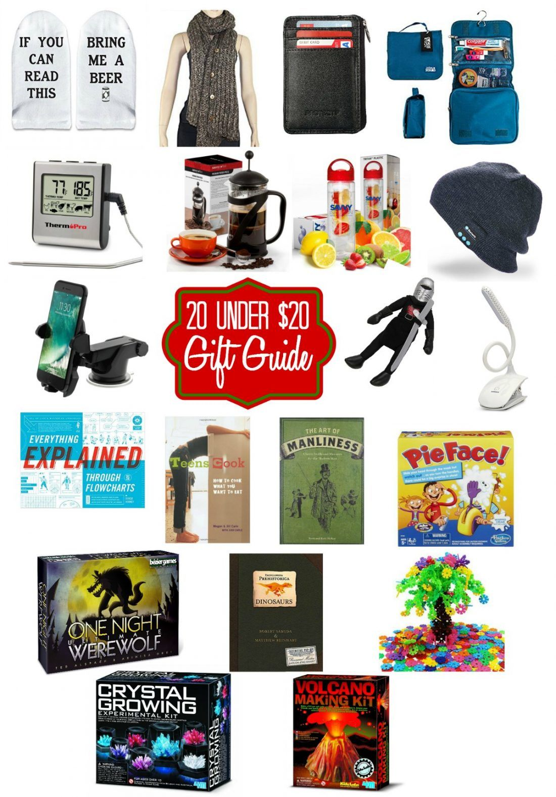 20 Gifts Under 20 Great Christmas Gifts For Less Than