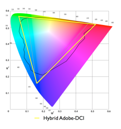 hybrid color gamut standard that combines the green point from adobe 1998 with the deep red of dci p3 [ 1168 x 1168 Pixel ]