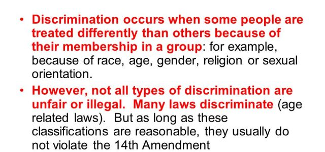 What is Discrimination Define Types  Effects  Eschool